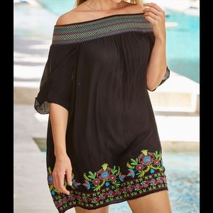 Swimsuits For All NWT Off-Shoulder Cover Up, 14/16